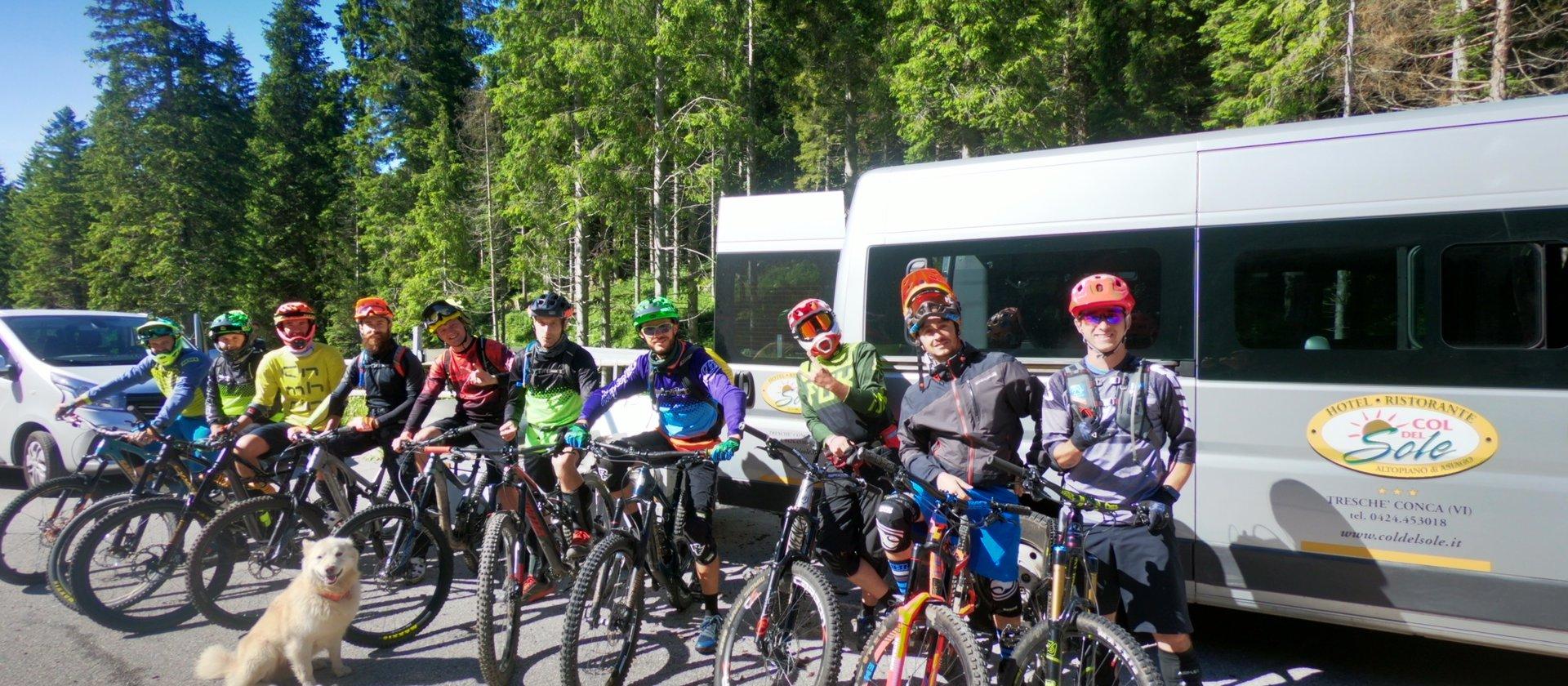gruppo bikers col del sole bike hotel