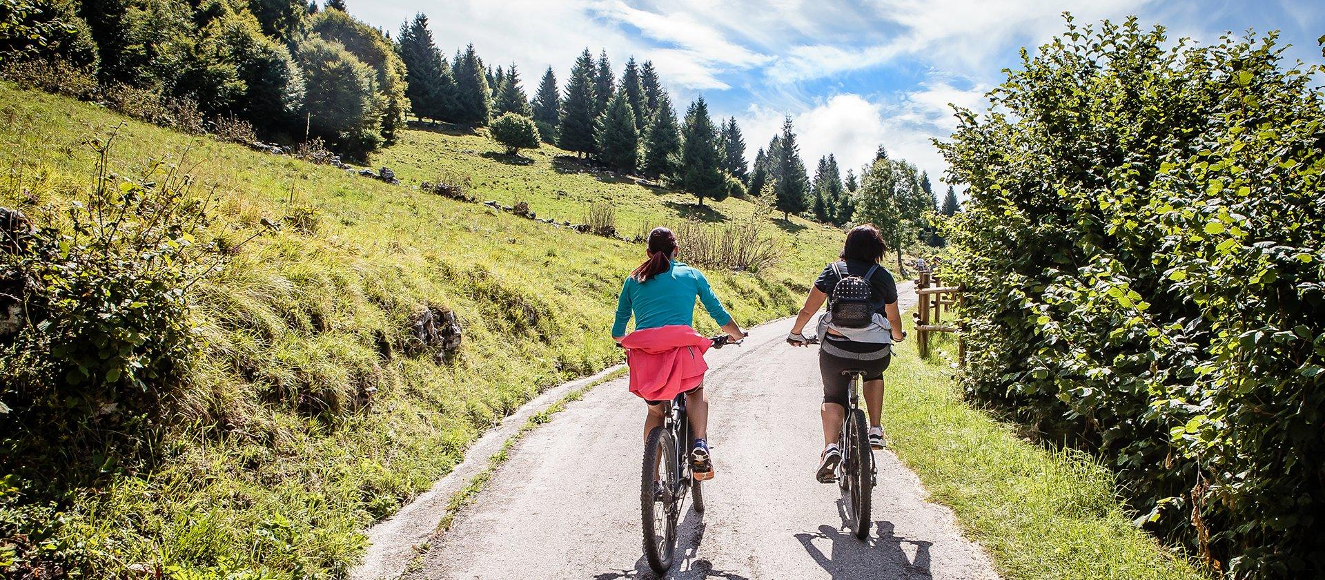 sentiero bici altopiano di asiago